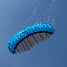 Řiditelný Kite modrý