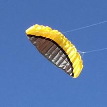 Řiditelný Kite žlutý