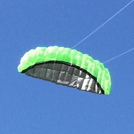 Říditelný Kite zelený
